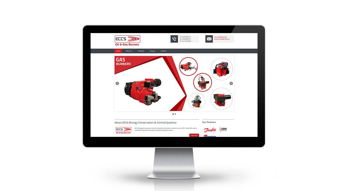 ECCS Burners Website Desktop