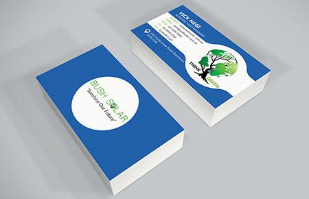 Bush Solar Business Card