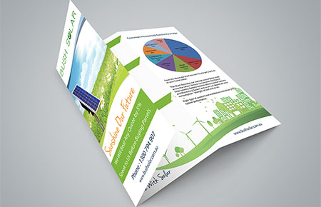 Bush Solar Tri Fold Brochure