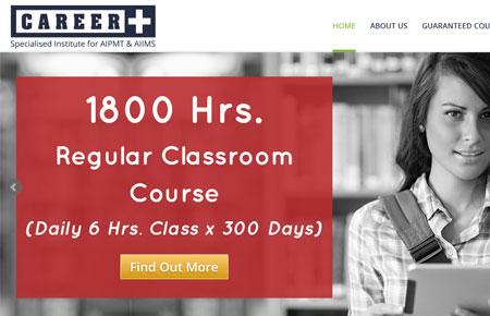 Career Plus Delhi Website