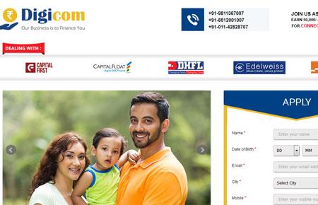 Digicom7 Website