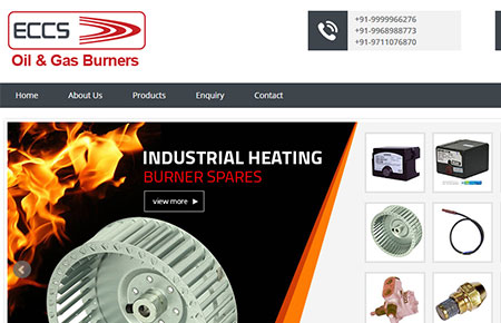 ECCS Burners Website