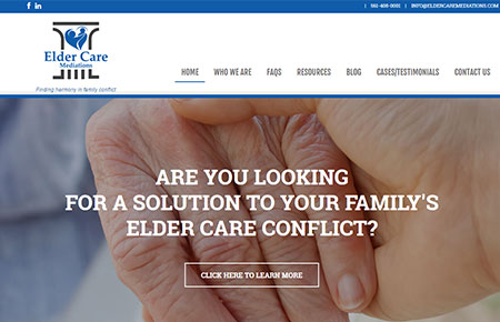 Elder Care Mediations Website