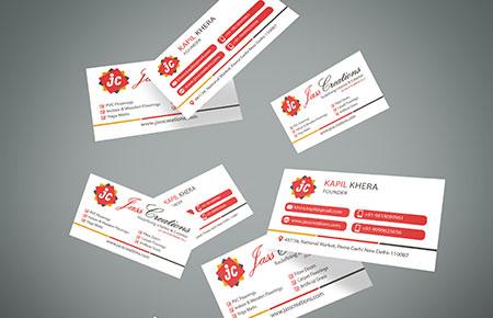 Jass Creations Business Card