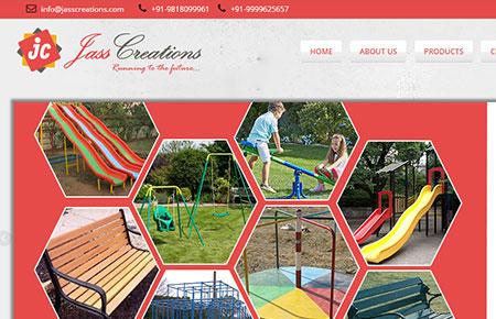 Jass Creations Website
