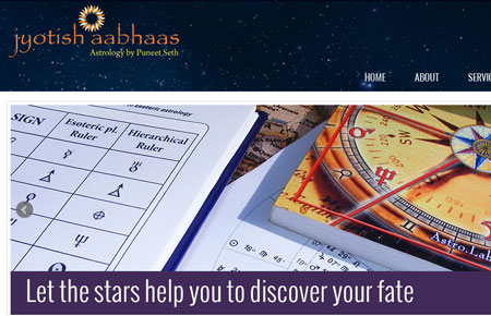 Jyotish Aabhaas Website
