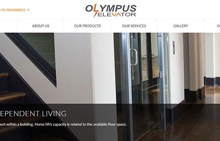 Olympus Elevator Website