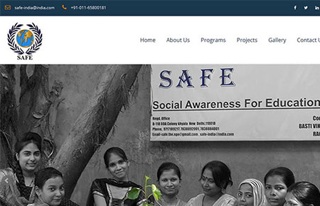 SAFE NGO Website