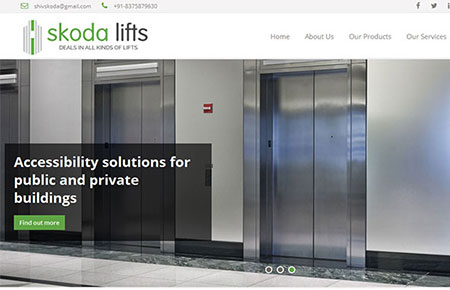Skoda Lifts Website