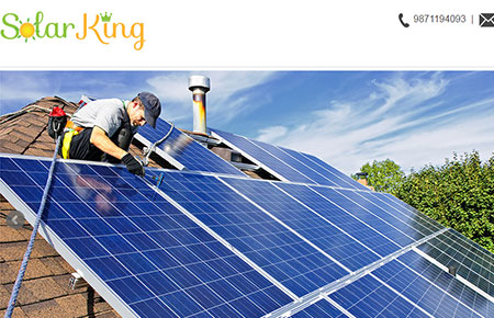 Solar King Website