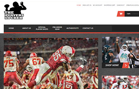 The Players Locker Website