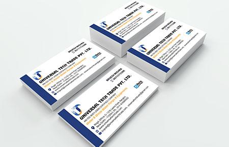 Universal Tech Trade Business Card
