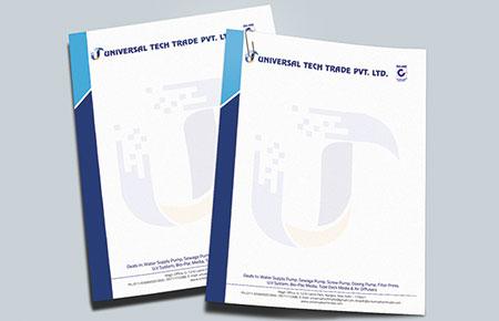 Universal Tech Trade Letterhead