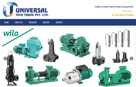 Universal Tech Trade Website